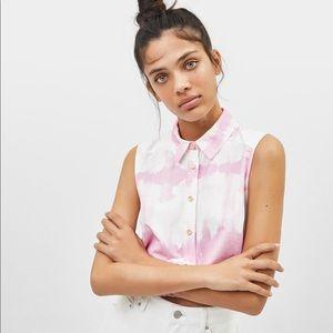 Bershka tie-dye top brand new with tag